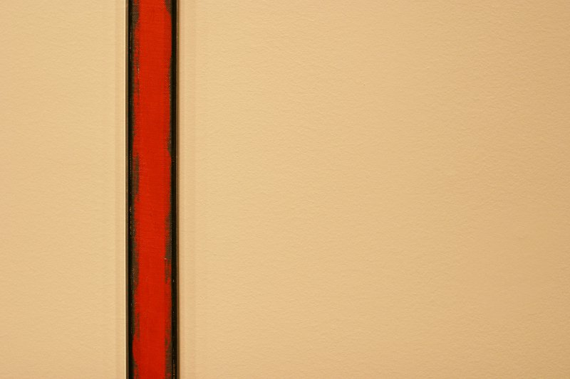 AGO AbEx - The Wild by Barnett Newman    (click for previous picture)