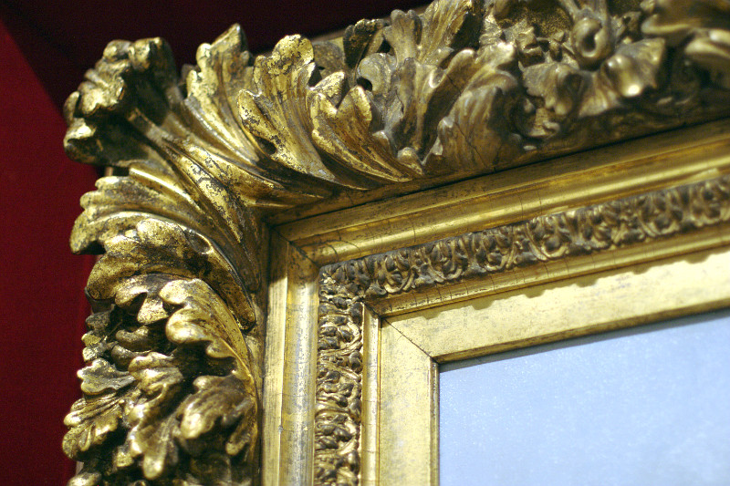 AGO Picturing the Americas: Deep red and gold frame    (click for previous picture)