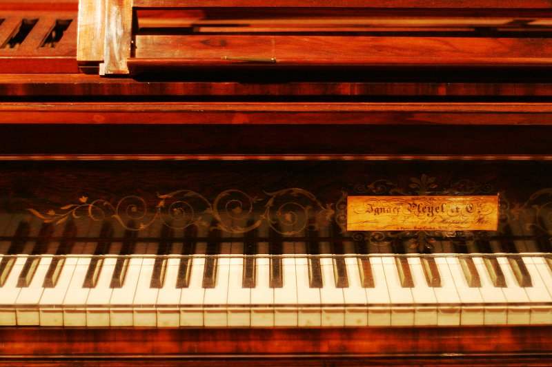 Chopin Keyboard at the ROM    (click for previous picture)