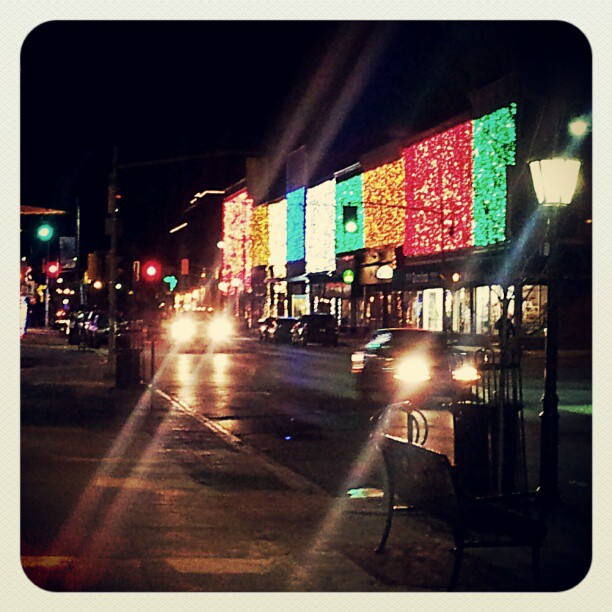 Napanee Holiday Lights    (click for previous picture)
