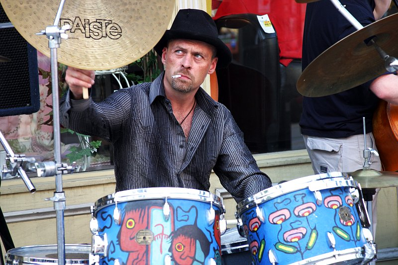 Beaches Jazz Festival Drummer    (click for previous picture)