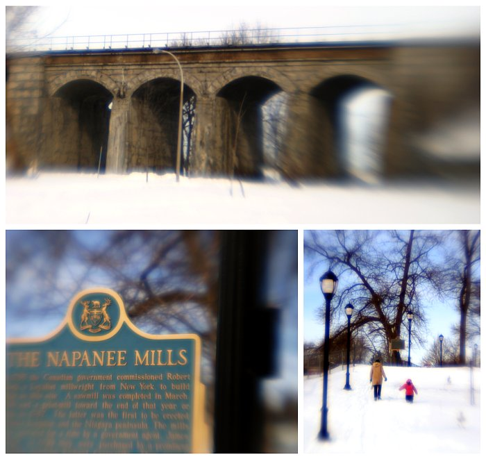 Napanee Mills (winter)    (click for previous picture)