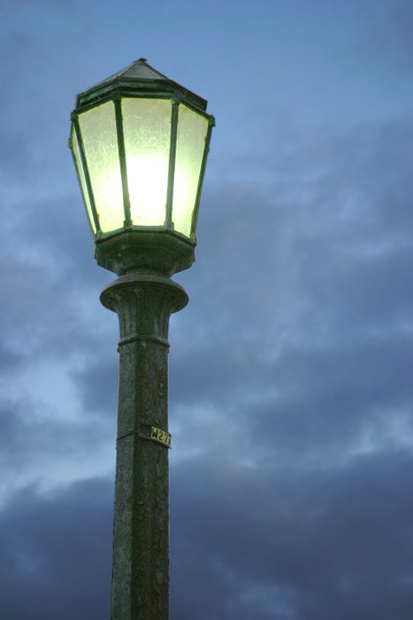 Niagara Falls lamp post    (click for previous picture)