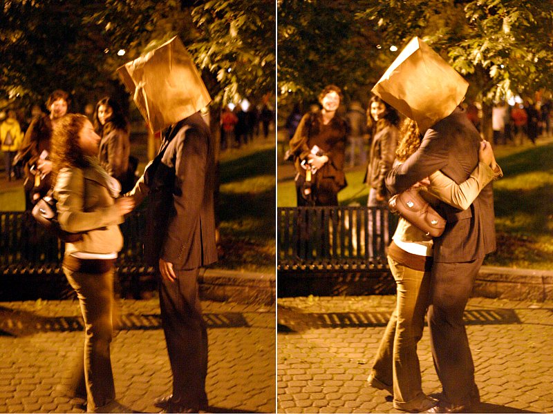 Nuit Blanche Park Hug    (click for previous picture)