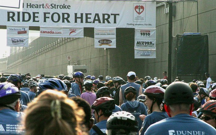Ride for Heart Start    (click for previous picture)