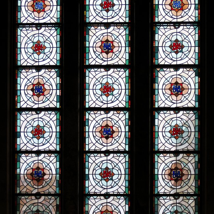 ROM Leaded Glass outside    (click for previous picture)