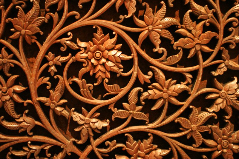 ROM Teak Mosque Screen    (click for previous picture)