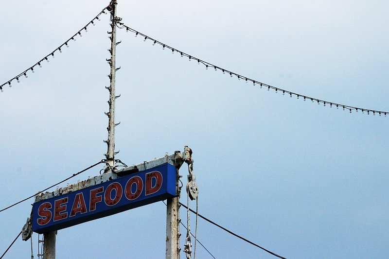 Seafood Sign    (click for previous picture)