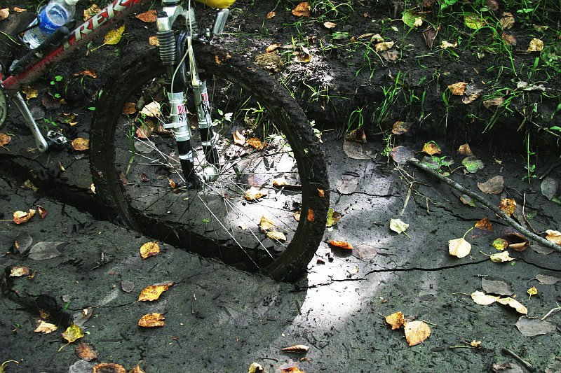 Mountain bike mud    (click for previous picture)