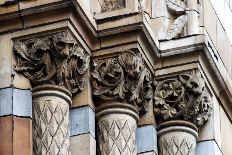 Natural History Museum Faces    (click for previous picture)