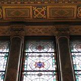 One of the windows in the rotunda